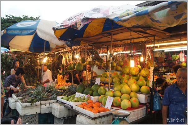 亚依淡巴刹卖柚子