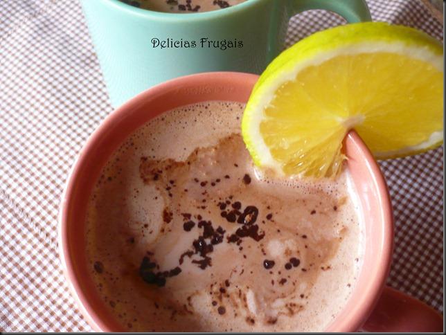 chocolate quente  - Delicias Frugais