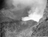 Gunung Slamet crater (unknown photographer, 1890) Courtesy TropenMuseum Archives
