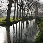 Anneville-en-Saire: the river Saire