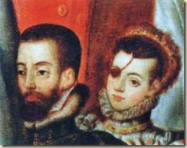 Ana de Mendoza y de la Cerda et son époux Ruy Gomez