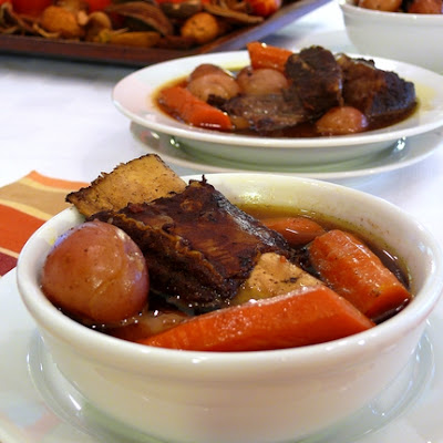 Slow-Cooked Moroccan Short Ribs