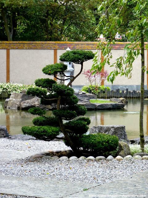 El jard n japon s de oostende en el mundo perdido for Jardin japones horarios