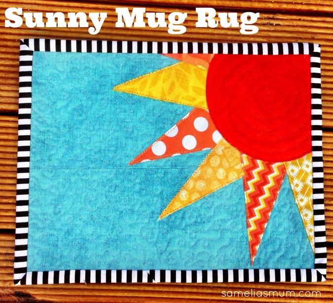 Sunny Mug Rug