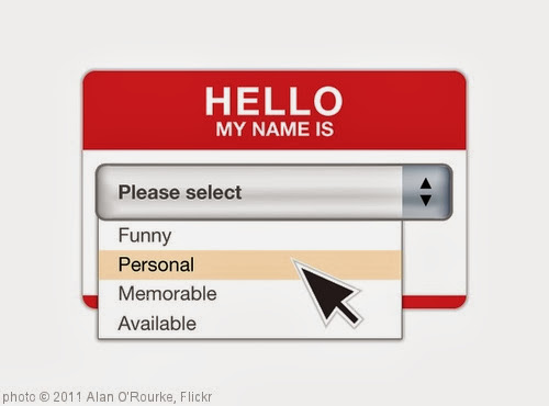 'Hello My Name Is...' photo (c) 2011, Alan O'Rourke - license: http://creativecommons.org/licenses/by/2.0/