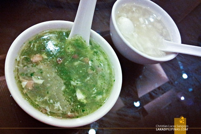 Soup at President Tea House SM North Edsa