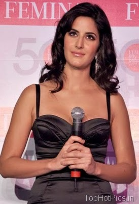 Katrina Kaif in Gorgeous Black Dress at Femina Launch 6