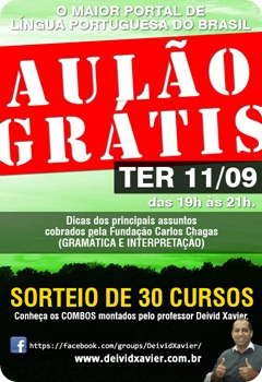 AULÃO GRÁTIS 110912