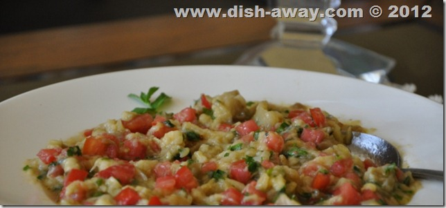 Baba Ghanoush Recipe by www.dish-away.com