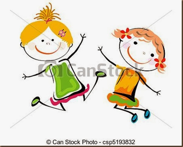 two friends dancing for joy