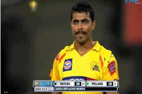 Ravindra jadeja moustache style - Download4u