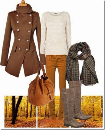 marrom moda inverno 2013 6