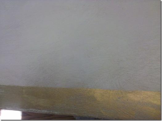 Second gold & dk wax