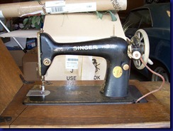Singer Treadle - Head Front 2