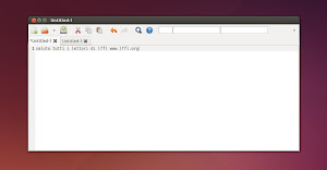KKEdit in Ubuntu Linux