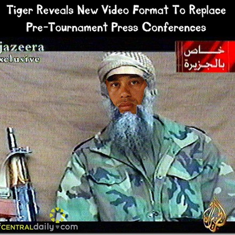 Tiger Decides Aljazeera Style Video Works Way Better Than Press Conference