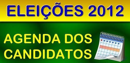 Agenda dos candidtatos 2012