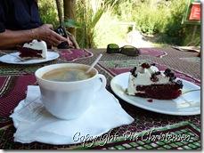 Kaffepause på La Reservada