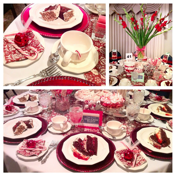 ChristmasbyCandlelight Candy Cane Themed Table Setting