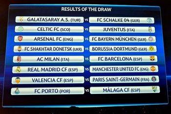 Babak 16 Besar Liga Champions 2012-2013