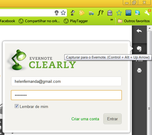 Evernote + Clearly 