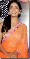 Yami Gautam Hot Photos in Light Orange Saree