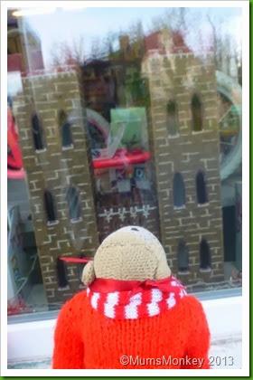 MotorWorld Christmas Window