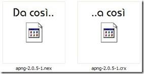 Rinominare estensione opera in formato estensione Chrome