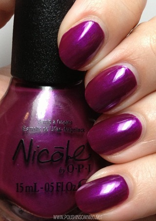 Nicole by OPI Pretty in Plum