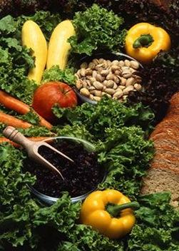 Vegetarian Diet - autor: Agricultural Research Service - origen: Wikipedia - licencia dominio publico