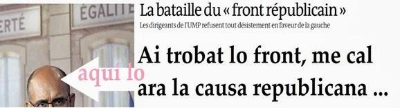 République française 6 Lo Front Republican
