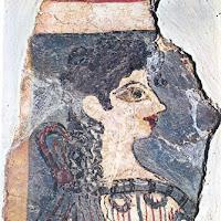 14.- Fresco de la Parisina, Cnossos