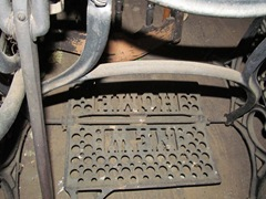 old New home sewing machine treadle