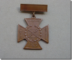 Bronze Cross of Honor