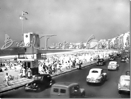 Praia de Copacabana -1956