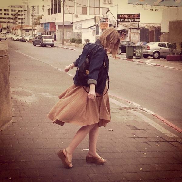 beige dress2
