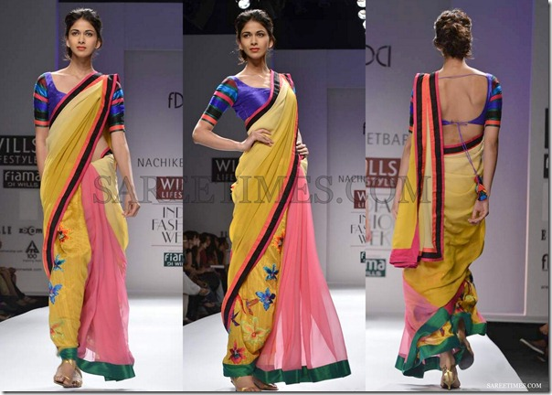Nachiket_Barve_Yellow_Pink_Saree