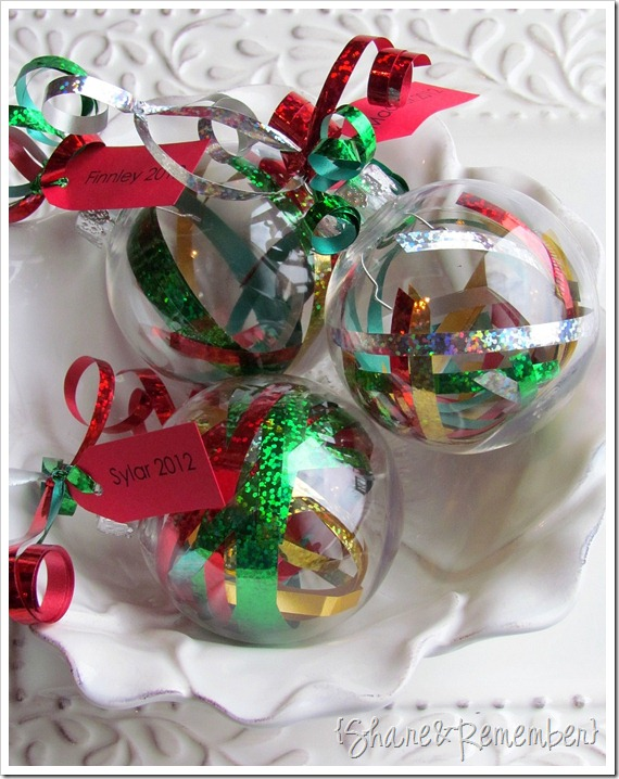 Ribbon Ornaments