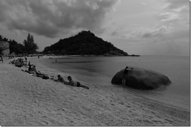 The triple beach of the Nang Yuan Islands
