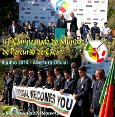 00 - 36.º Camp. Mundial Percurso Caça - Abertura oficial - 09.07.14