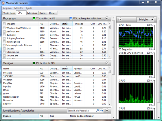 Guia CPU - Monitor de recursos
