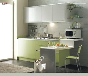 cocinas-modernas-verdes