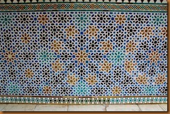 seville, alcazar tile patterns