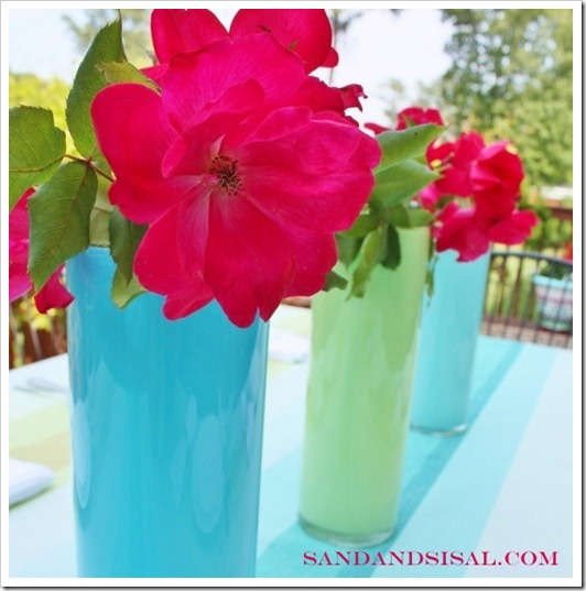 paint a glass vase watermarked