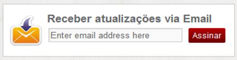 Widget Assinar feeds