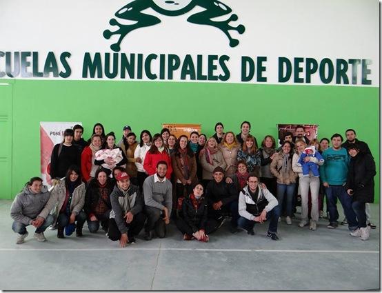 Participaron alrededor de 150 personas de 12 distritos de la región