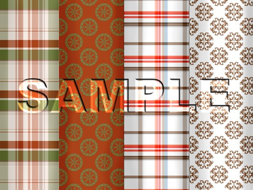 country homespun sample