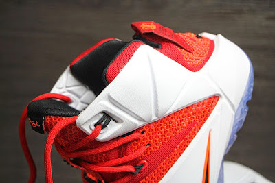 nike lebron 12 gr lion heart 3 05 Upcoming Nike LeBron XII (12) Red / White Lion Heart