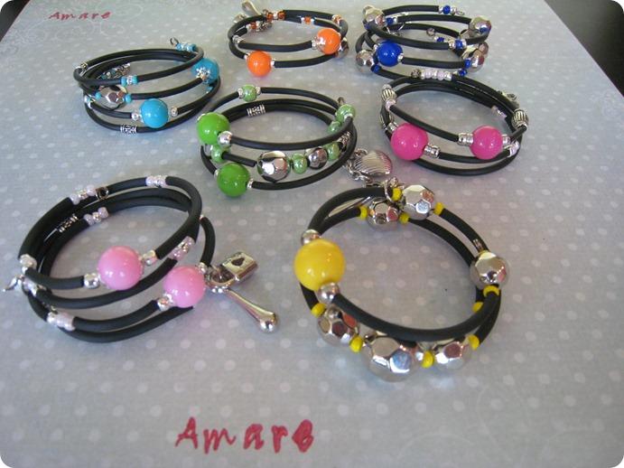 Neon_sort armbånd