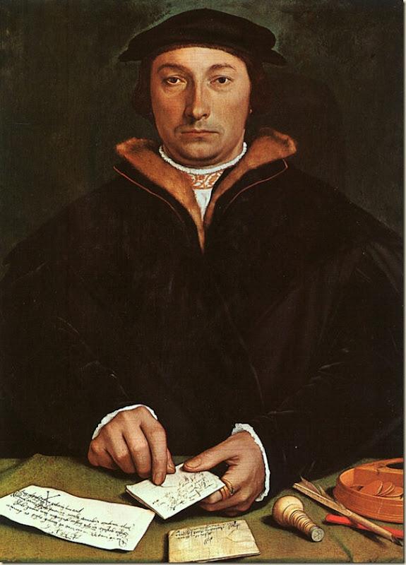 Holbein, Portrait de Dirck Tybis
